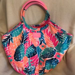 Lilly Pulitzer beach/pool/overnight bag